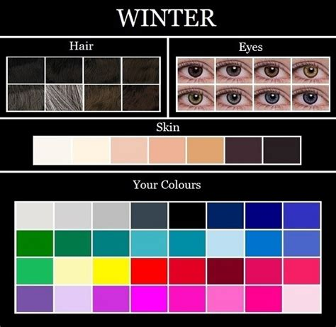 best hair color for deep winters dressing for your skintone 171 veronica vintage
