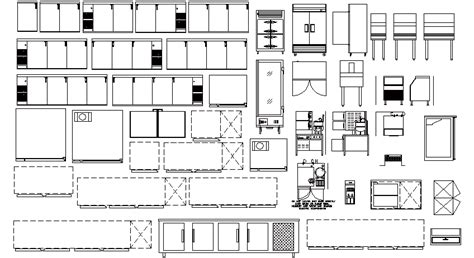 imágenes y muebles urbanos s a de c v librer 237 as de bloques autocad equipamiento hostelero 03