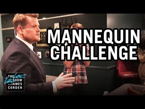 show challenges mannequin challenge late late show
