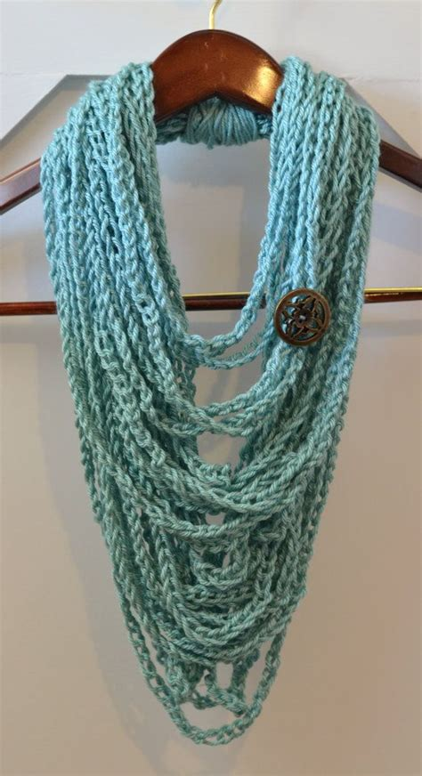 17 best ideas about crochet chain scarf on