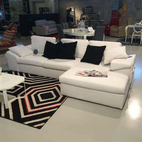 felix divani divano felis felix otello in tessuto bianco con penisola