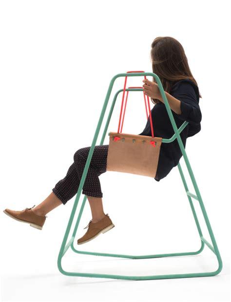 rocking swing chair rocking swing by clara rivi 232 re tobias nickerl design milk
