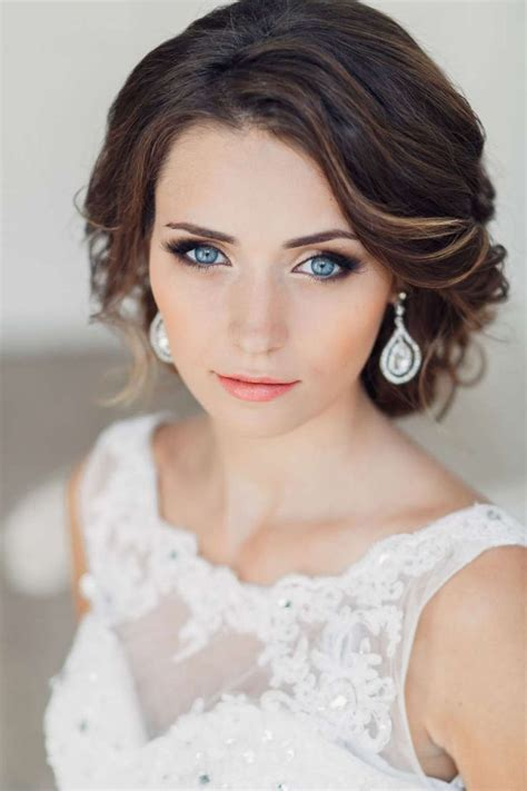 hair and makeup for engagement photos bridal makeup for blue eyes and dark hair one1lady com