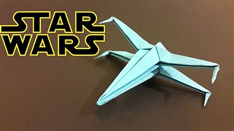 X Wing Origami - origami wars x wing how to make