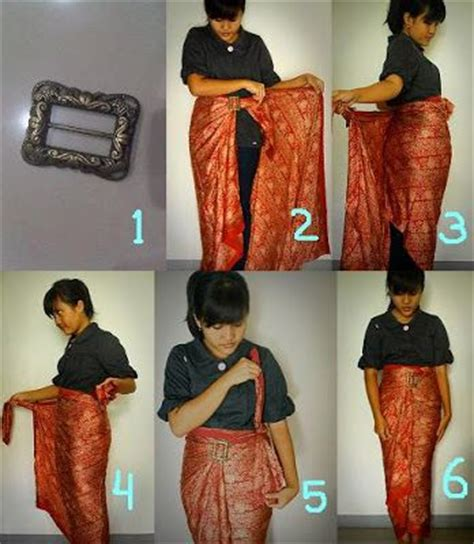 tutorial memakai kain batik sebagai celana padanan kebaya 19 best how to wear sarong or kain images on pinterest