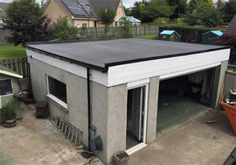 garage flat roof replacement