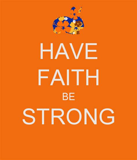 faith  strong poster nicky   calm  matic