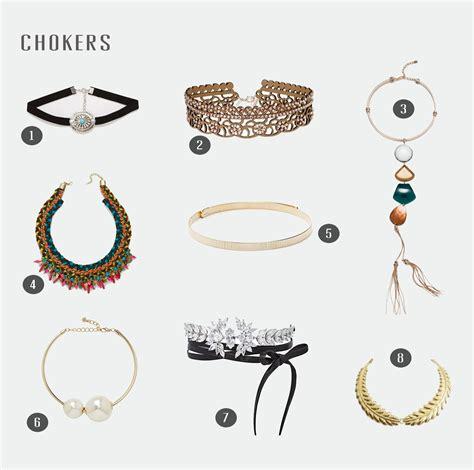 Mira Los Chokers Que Puedes Encontrar Esta Primavera En Tus Tiendas | chokers el complemento de moda para esta primavera