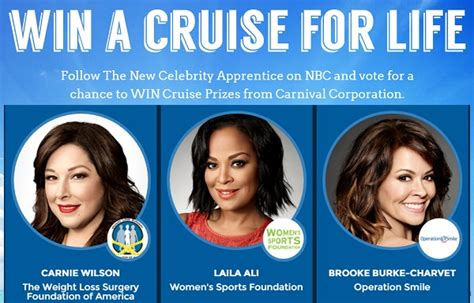 Apprentice Sweepstake - the carnival corporation 2017 charity challenge sweepstakes sweepstakesbible