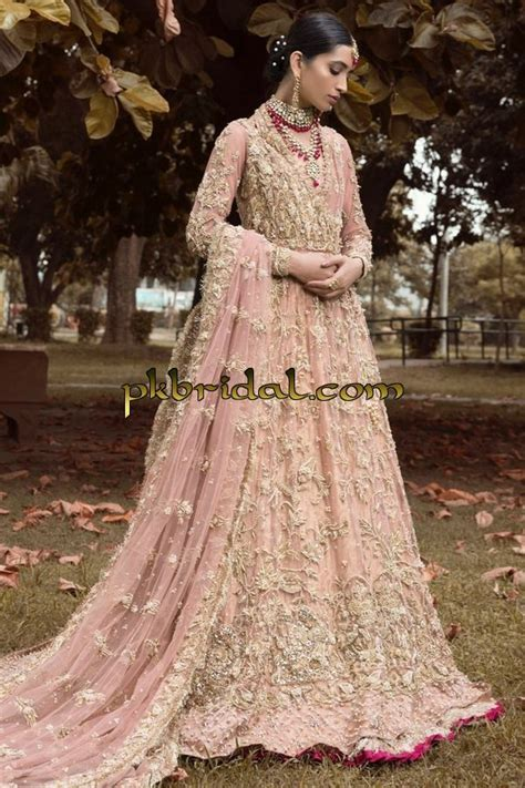 Beautifully Embroidered Pakistani Designer Wear Bridal Dress