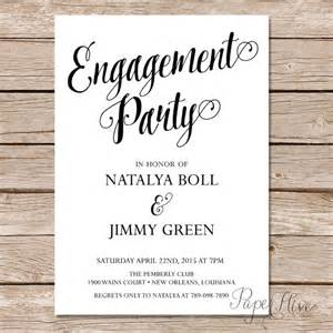 modern calligraphy engagement invitation calligraphy engagement invite digital