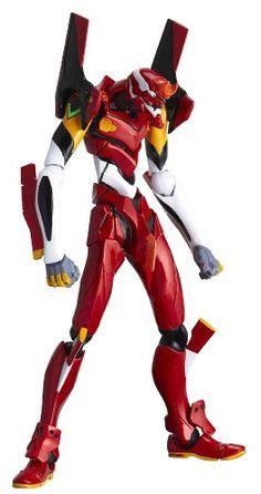 Kaiyodo Xebec Evangelion Unit 02 Figure Neon Genesis kaiyodo revoltech no ex evangelion 01 and 06 special edition figure featured on