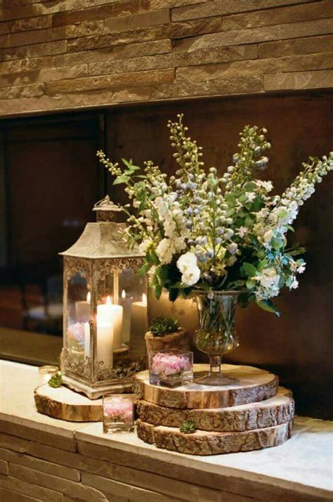 Wooden Vase Centerpiece by Best 25 Wooden Centerpieces Ideas On Rustic