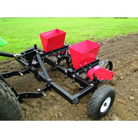 Field Tuff 3 Pt Hobby Seed Planter 0 22 Bushel Capacity Seed Planter For Tractor