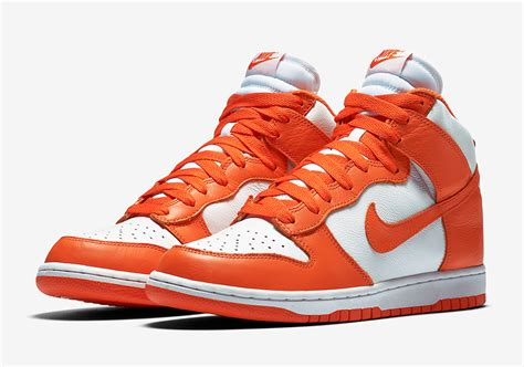 nike dunk high new year nike dunk high retro qs quot syracuse quot sneakernews
