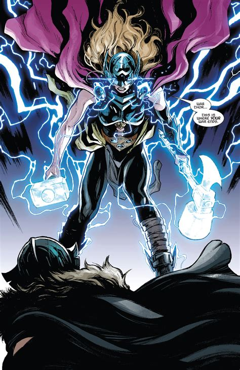 mighty thor vol 4 the war thor marvel comics legacy spoilers thor 23 has mighty thor vs