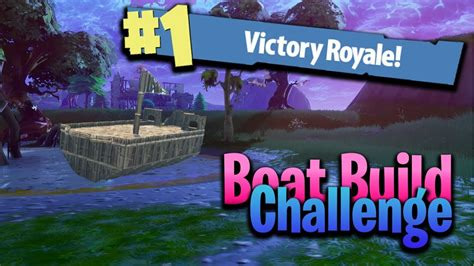 how to build a boat in fortnite how to build a boat in fortnite battle royale youtube