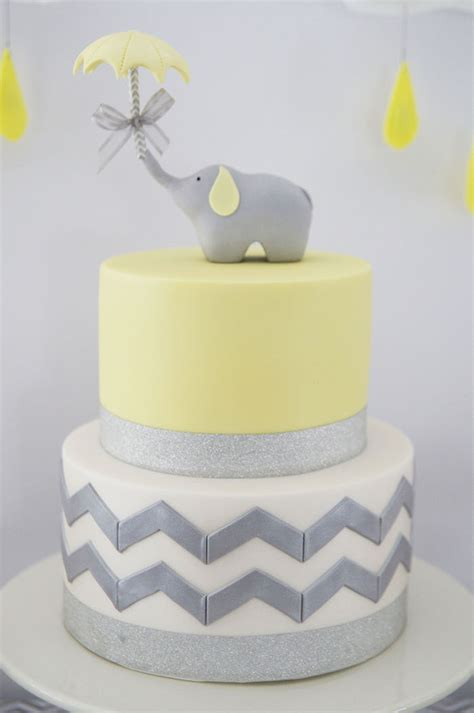 Baby Shower Cakes With Elephants by Kara S Ideas Grey Elephant Themed Baby Shower