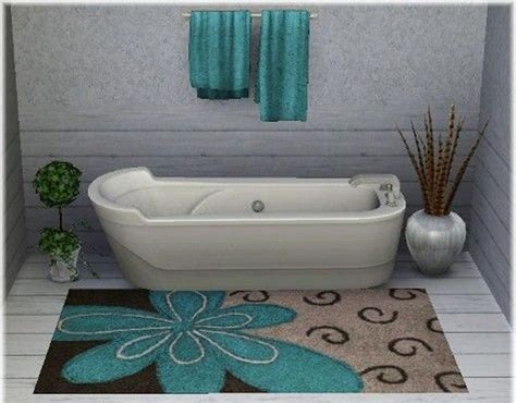 10 Interesting And Fun Bathroom Area Rugs Rilane Rugs For Bathroom Floor
