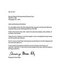 Copy Of A Letter Of Resignation by Letter Of Resignation From Board Images Frompo 1