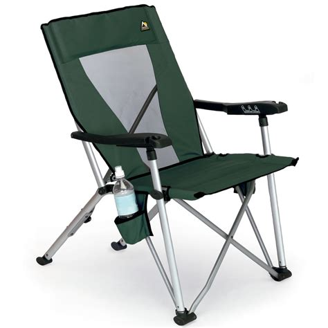 portable reclining chair the reclining portable chair hammacher schlemmer