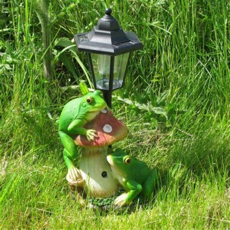 frog solar light solar croaking frog lights