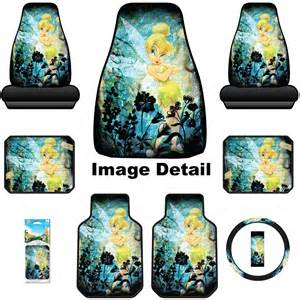Tinkerbell Seat Covers Cars Walmart 8pc Disney Tinkerbell Moody Floor Mats Seat Cover Steering
