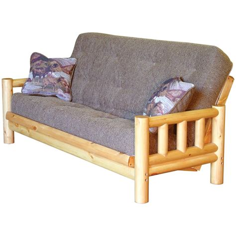 Rustic Futons tahoe rustic futon with tdc mattress 151917 living