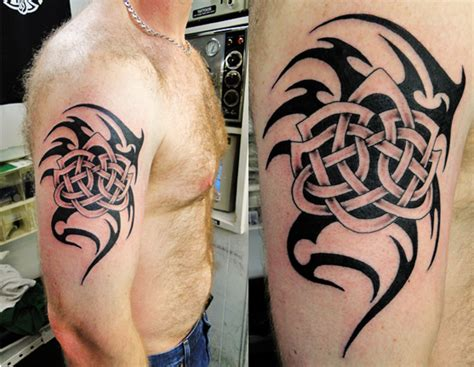 28 Symbolic Tribal Tattoos Celtic Tribal Designs