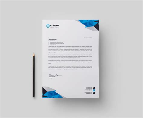 professional stationery templates professional corporate letterhead template 000904