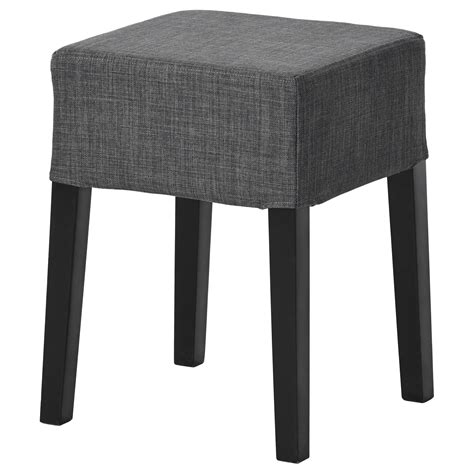Black Stools Means by Nils Stool Black Skiftebo Grey Ikea