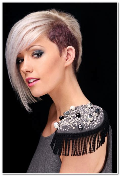 short hair longer on one side hairstyles on one side on other short hairstyles for