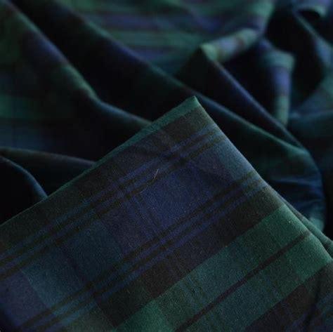 Kemeja Tartan Black Blue black like tartan shirting fabric