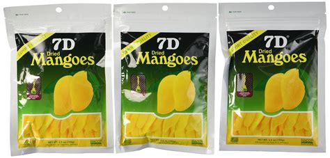 7d Dried Mango premium 7d dried mangoes packs of 6 grocery