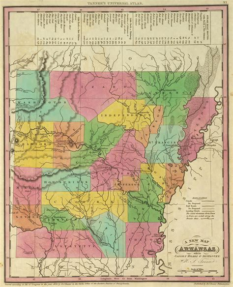 map arkansas county map index