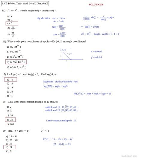 section two sat math practice calculus practice exam httpappfinderlisisoftcomappgre