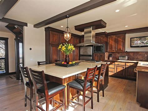 32 Best Kitchen Islands with Seating   Safe Home