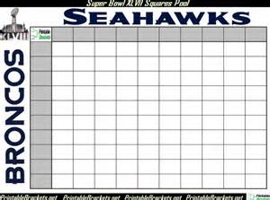 Squares printable 100 square grid super bowl office pool car pictures