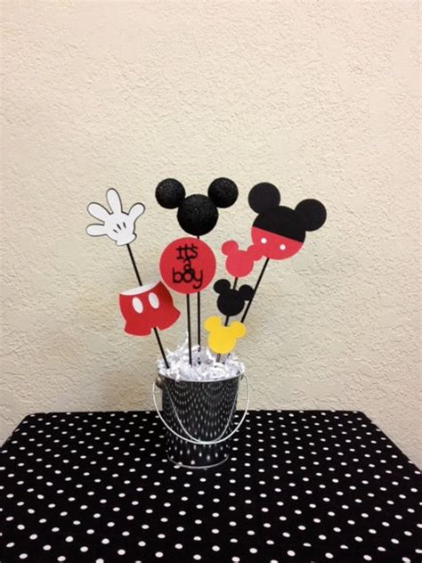 mickey mouse wedding centerpieces mickey mouse baby shower centerpiece it s a boy