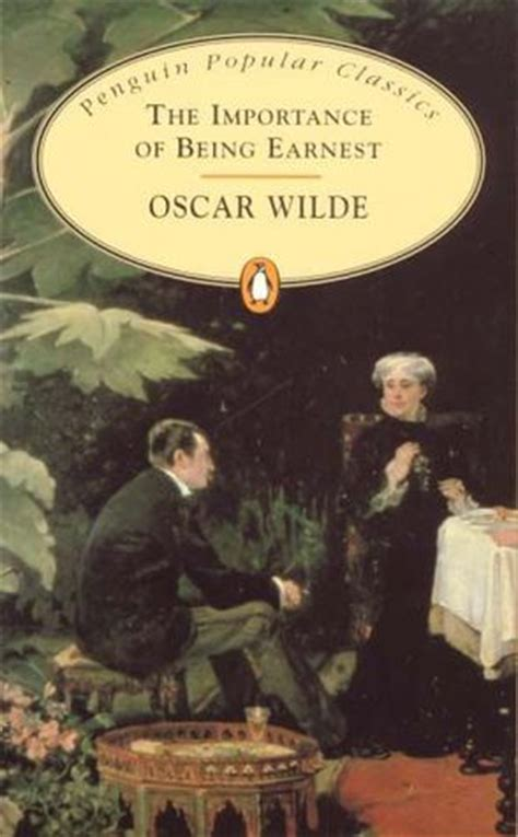 the importance of being earnest books back in time the importance of being earnest by oscar