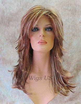 women s strawberry blonde shag with undone textured waves top 25 best long choppy hairstyles ideas on pinterest