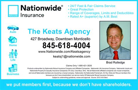 nationwide auto insurance claims address