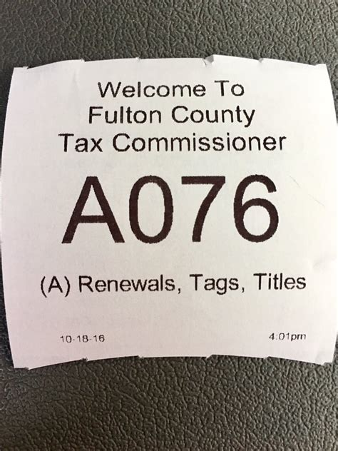 County Tag Office by Fulton County Tag Office 21 Anmeldelser Motorregistret
