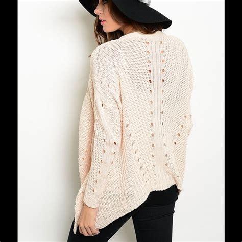 open drape cardigan sweater cream drape open front cardigan sweater from shaney s