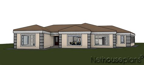 Modern 5 Bedroom House Designs by T351 Nethouseplans