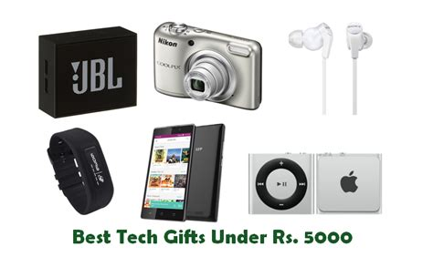 coolest tech gifts best tech gifts under rs 5000 for this festive season