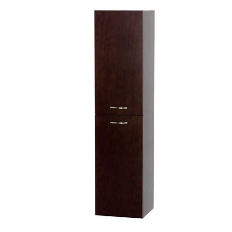 wyndham bathroom wall cabinet wyndham collection accara 13 1 2 in w x 56 in h x 12 1 4