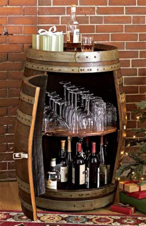 Wine Bar Table Wine Barrel Bar Table And Many Other Diy Furniture That Can Be Transferred Into An Barrel