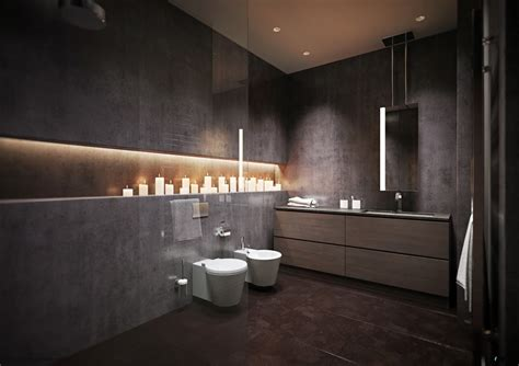modern grey bathroom interior design ideas
