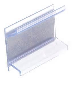 price channel sign holder shelf edge clip 100 units